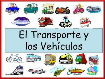 boat in spanish means transportation vocabulary and spanish on pinterest