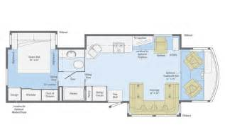 Motorhome Plans by Floor Plans Of Motorhomes Trend Home Design And Decor