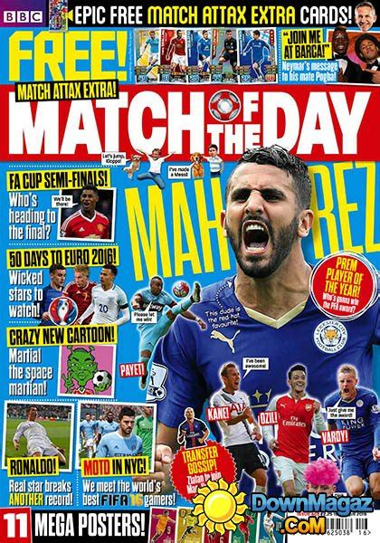 Magazine Presents News Of The Day by Match Of The Day 19 April 2016 187 Pdf Magazines