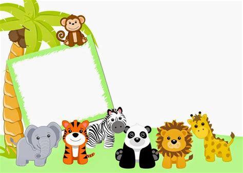 imagenes de animales de safari fondos para invitaciones de baby shower de animales