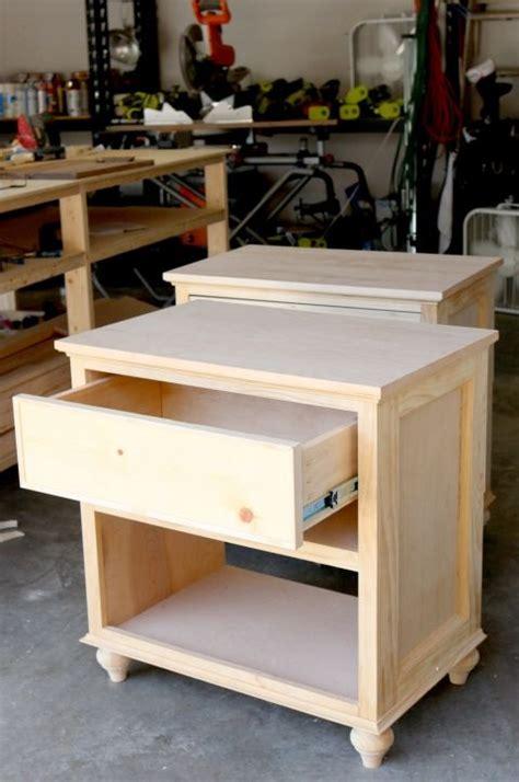 build diy nightstand bedside tables diy furniture