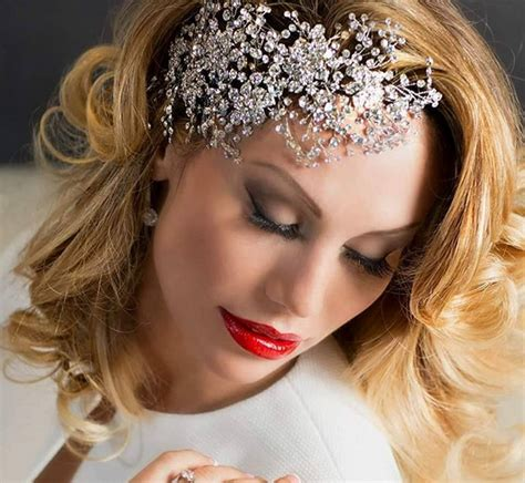 Wedding Hair Accessories In Dubai by The Trend In Bridal Hair Accessories Arabia Weddings