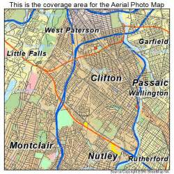 clifton map aerial photography map of clifton nj new jersey