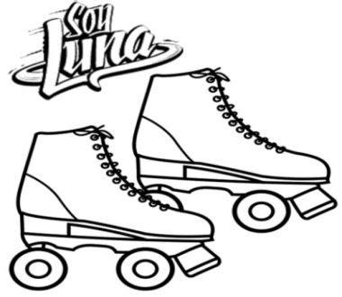 imagenes soy luna para dibujar pintar los patines de luna juego online