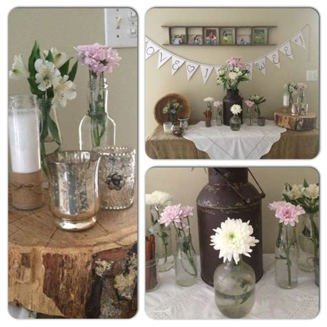amber s rustic wedding shower