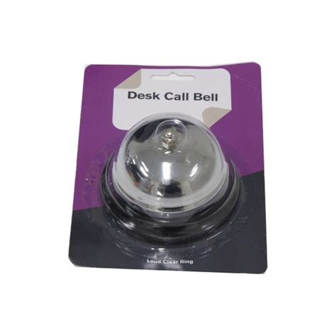 Reception Desk Bell Kitchen Desk Hotel Counter Reception Restaurant Bar Call Bell Service Kit Chrome Ebay