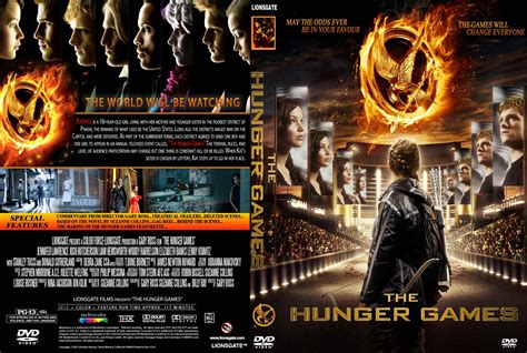 dvd slipcover the hunger games 2012 cd cover front cover