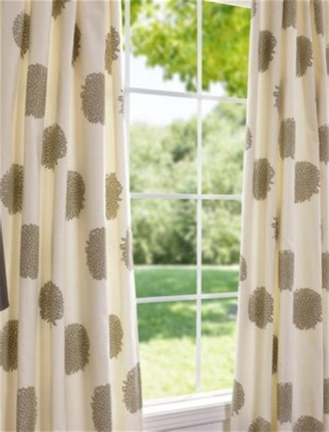 cotton drapes and curtains chrysanthemum printed cotton curtains and drapes