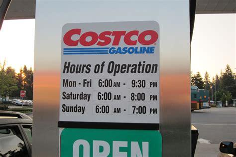 costco hours evo davo shoreline costco gas station hours of operation
