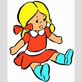 Cute Doll Clipart - Clipart Kid