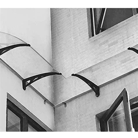 tettoia per finestra angolo interno per pensilina da parete tettoia in