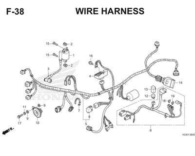 wiring diagram sistem kelistrikan sepeda motor wiring