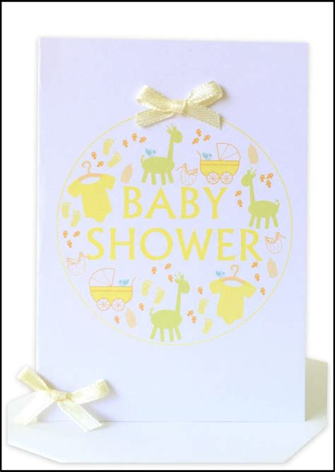 Baby Shower Gift Card - wholesale baby shower cards lils wholesale handmade cards