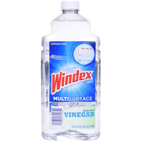 Can You Use Clorox Wipes On Granite Countertops by Windex Multisurface Refill Cleaner With Vinegar 67 6 Fl Oz