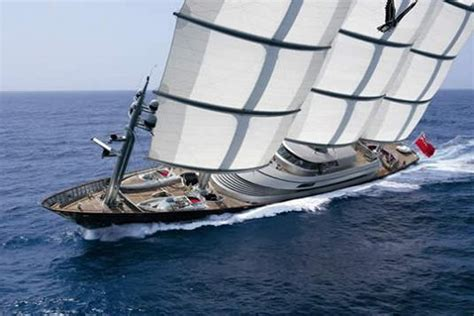 biggest private ships in the world maltese falcon third largest sailing yacht in the world