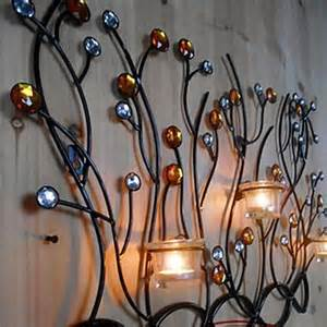 Candle Wall Decor by Metal Wall Wall Decor Candle Wall Decor Three
