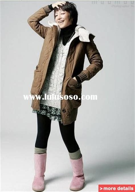 korean girls winter clothes review shopping guide