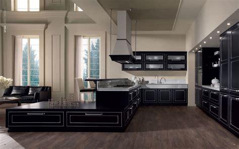 cucine nere moderne cucina nera foto di esempi per una scelta raffinata e moderna