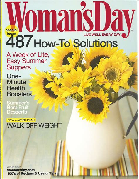 Womans Day Magazine Subscription for $4.99
