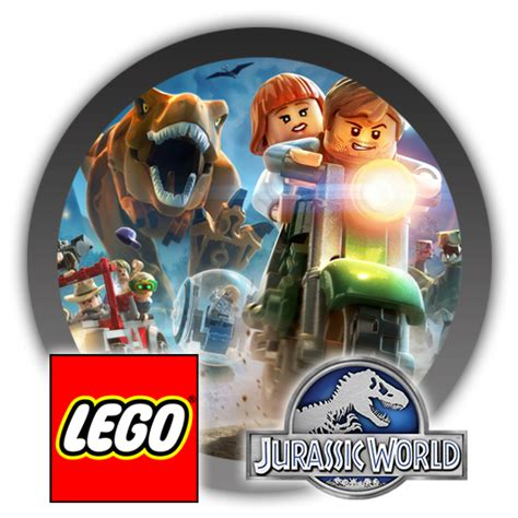 lego jurassic world logo lego jurassic world icon by blagoicons on deviantart