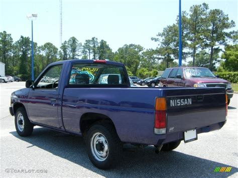nissan pickup 1996 1996 royal blue metallic nissan hardbody truck regular cab