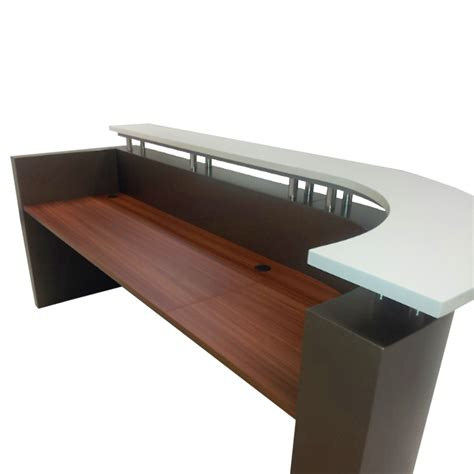 Roxy Reception Counter Desk Ikcon Reception Desk Counter
