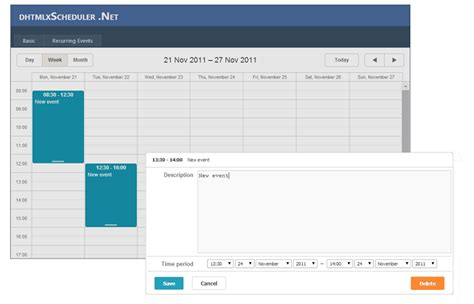design calendar in asp net dhtmlx scheduler net how to create a simple asp net