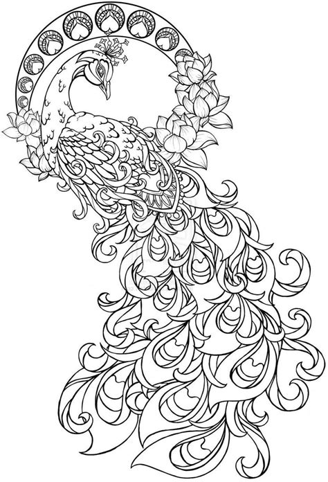 paisley pattern tattoo design  coloring page coloring