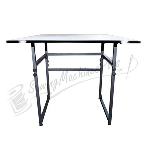 adjustable sewing table sullivans add a table adjustable table