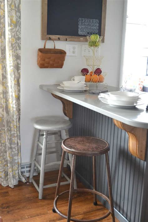 diy kitchen makeover ideas farmhouse bar stools under 100 my creative days