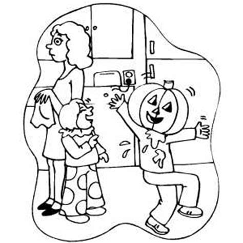 pumpkin head coloring page 6 best images of printable halloween letter head