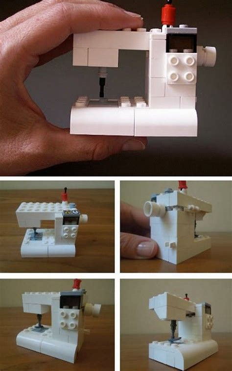tutorial lego machine truebluemeandyou diy lego sewing machine tutorial from