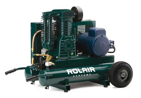 electric wheelbarrow compressors air compressor on wheels rolair systems