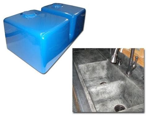 expressions ltd concrete countertop fiberglass sink mold