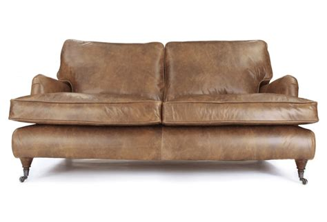 Small Sofa Leather Iris Small Classic 2 Seater Sofa By Home Of The