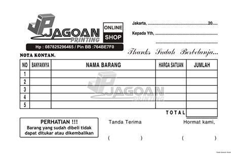 format buku jual pulsa jual nota penjualan desain kreasi sendiri
