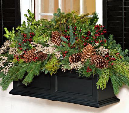 youtube how to decorate a christmas window box greens decorating kit 14lb box white flower farm