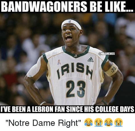 Notre Dame Football Memes - 25 best memes about bandwagon bandwagon memes