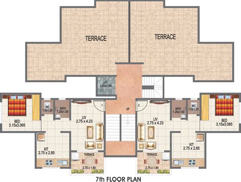 540 sq ft floor plan 540 sq ft 1 bhk 1t apartment for sale in gbk group