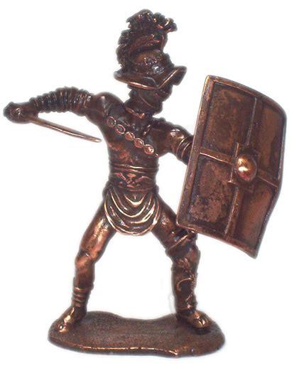 metal roman gladiator figurines ancient rome gifts