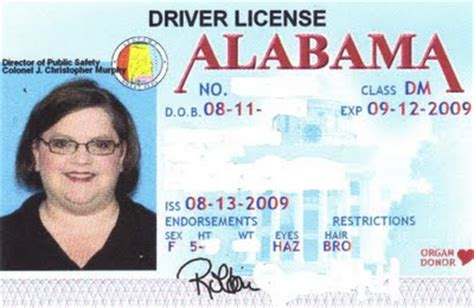 alabama id card template id card generator for verification skyurdu