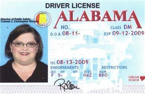 alabama id card template id card generator for verification skyurdu