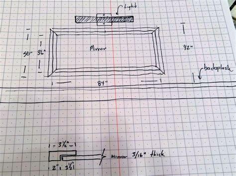How To Build A Frame Around A Bathroom Mirror by Add A Wood Frame Around A Plain Mirror Diy