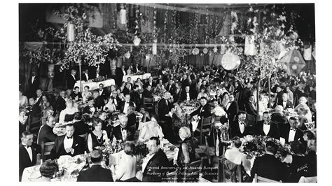 The Oscars Ceremony Begins by When The Roosevelt Hosted The Oscars
