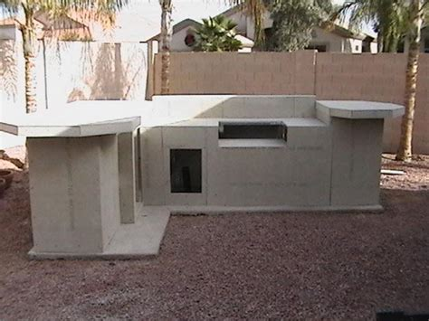 build outdoor kitchen diy outdoor kitchen concrete board sheathing maybe
