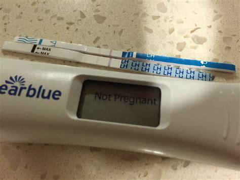 False Positive Home Pregnancy Test by Light Positive Pregnancy Test Gallery