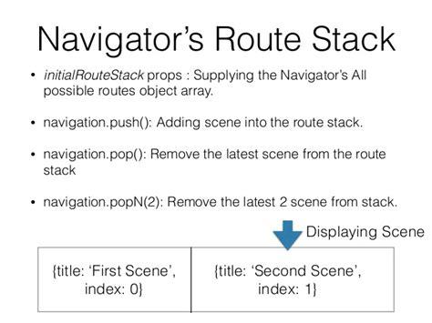 react native navigator tutorial react native tutorial lecture 7 navigation scene