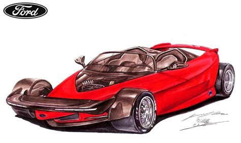 ford supercar concept ford vision gran turismo may recall the 1996 indigo open