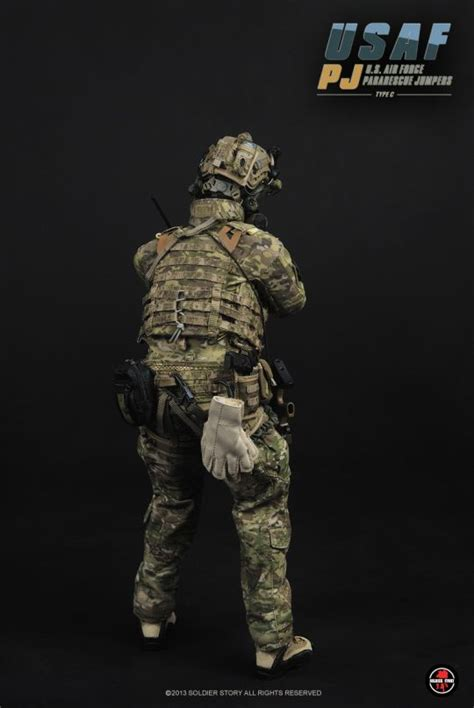 j p patches figure usaf pj us air pararescue jumpers type c soldier