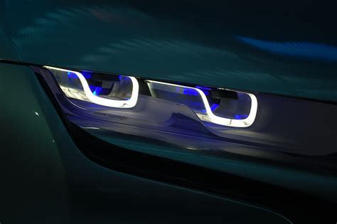 bmw laser headlights bmw now developing production laser headlight tech